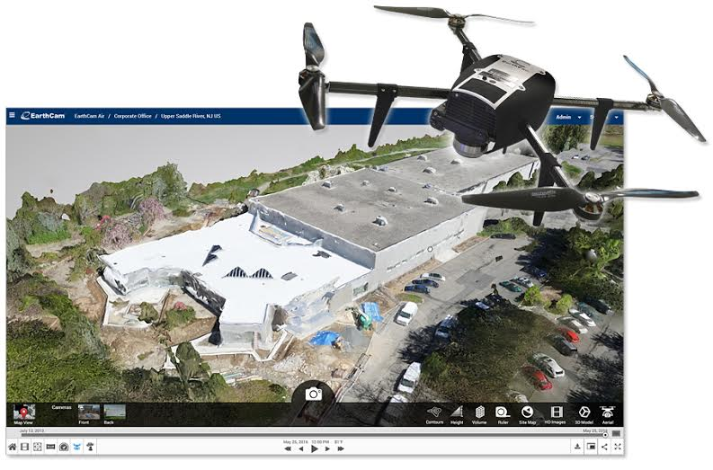 Earthcam merges webcams and drones to create a new geospatial earthcam merges webcams and drones to create a new geospatial jobsite model gumiabroncs Gallery