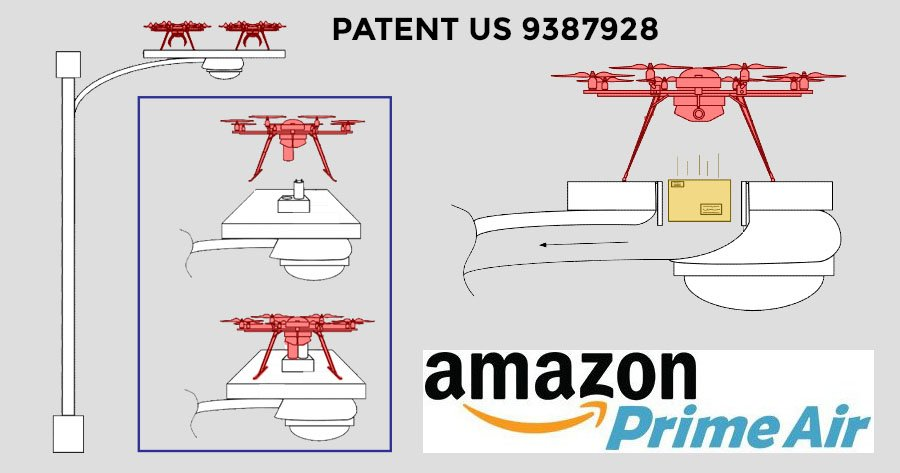 Amazon Patents Special Drone Housing In The Sky Suas News