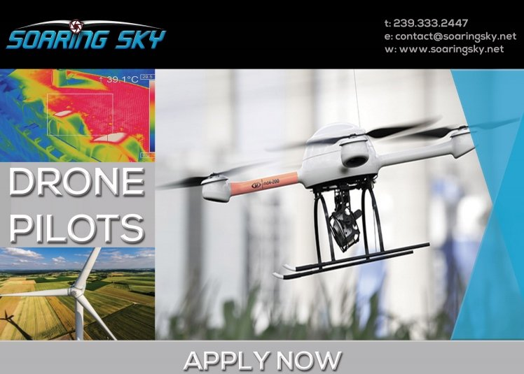 Recruiting pilots - Soaring Sky - sUAS News - The Business of Drones