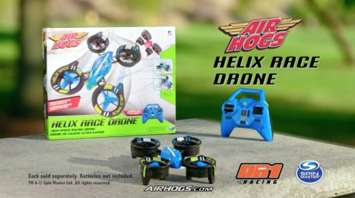 Spin Master And DR1 Racing Announce Air Hogs Partnership
