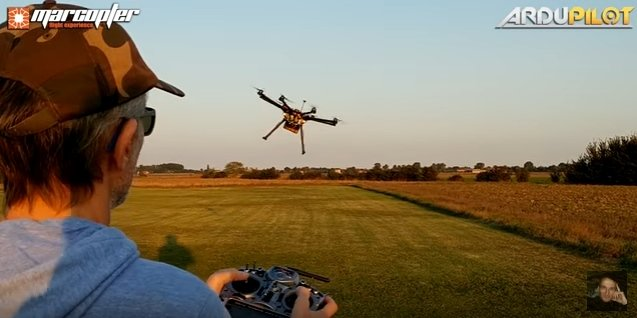 Ardupilot project releases new firmware Copter-3 4 - sUAS