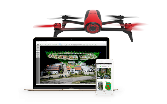 Parrot BEBOP 2 real estate advanced edition - sUAS News
