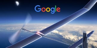 Google Titan Aerospace S flying