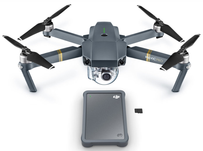 Seagate Releases Its Fly Drive Specifically For Drones