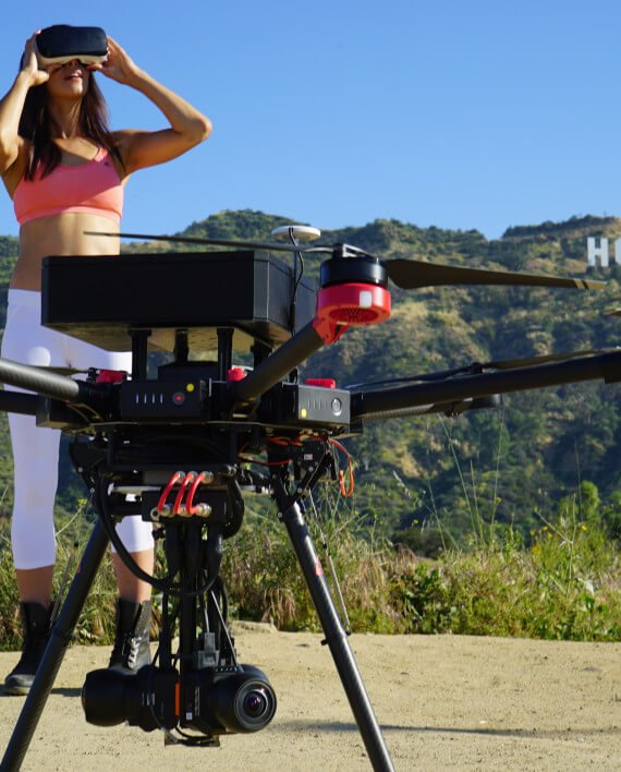 360 Designs Introduces The Worlds First Broadcast Quality 6K VR Drone