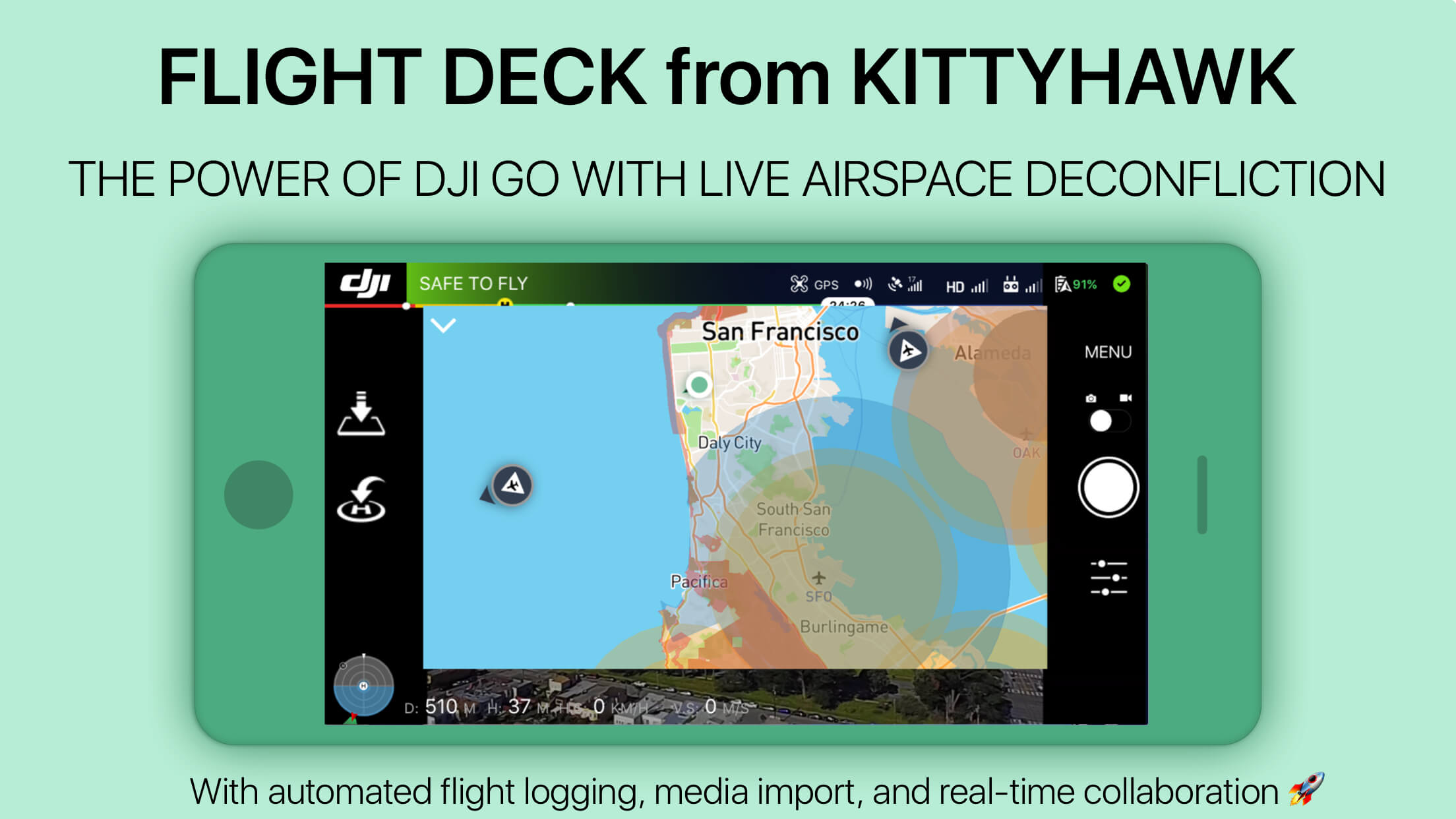 Kittyhawk.io Launches Flight Deck for Real-Time Drone Operations