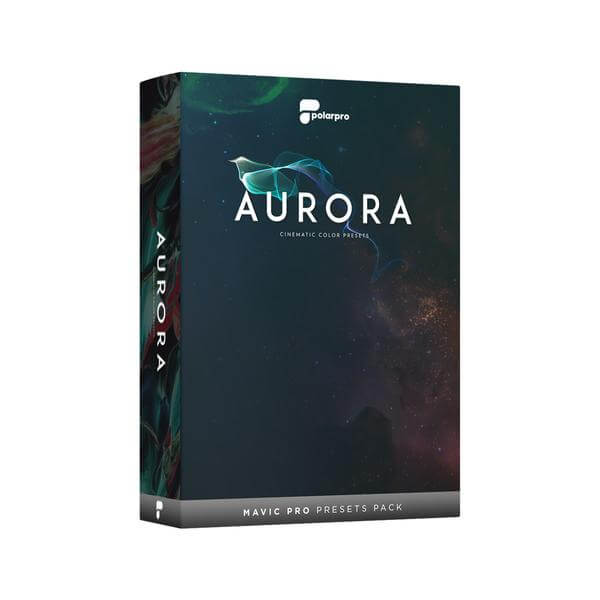 PolarPro Launches Its First Drone Software with Aurora Cinematic Color Presets