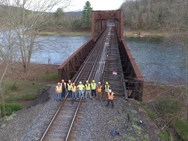 Unmanned Experts Teams With AirShark In Ground-Breaking Aerial Bridge Inspection