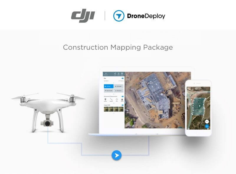 DroneDeploy Partners with DJI to Bring Complete Drone Mapping Solution to Construction - sUAS News - The Business of Drones