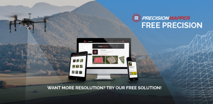 PrecisionHawk Launches Free PrecisionMapper Software For Drone - Drone mapping software free