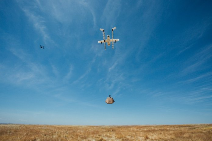 Alphabet's Project Wing announces drone test success