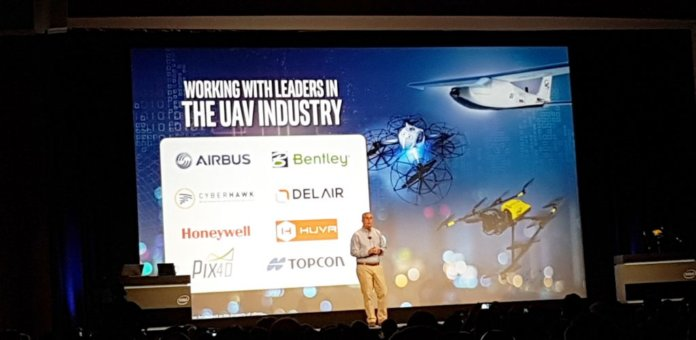 Pix4D among UAV industry leaders Intel® uses to launch Intel