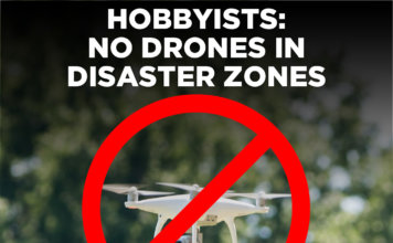 NCDOT Reminds Drone Hobbyists: No Drones in Disaster Zones