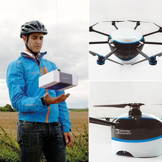 Cambridge Consultants The future of drone delivery