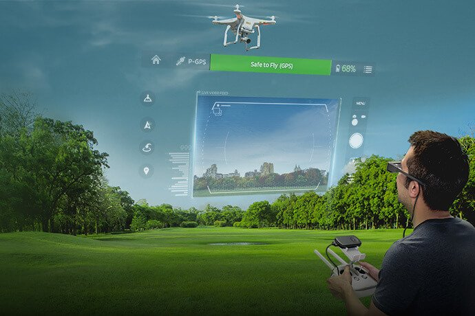 Epson Launches World's First Augmented Reality Drone Flight Simulator App Optimized for Smart Glasses - sUAS News - The Business of Drones