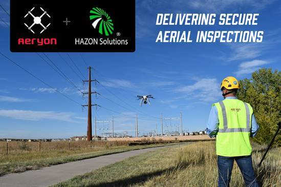 Aeryon Partners with HAZON Solutions to Provide Next-Gen Secure