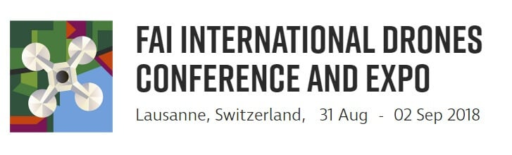 Prominent international drone experts at the FAI International Drones Conference and Expo 2018