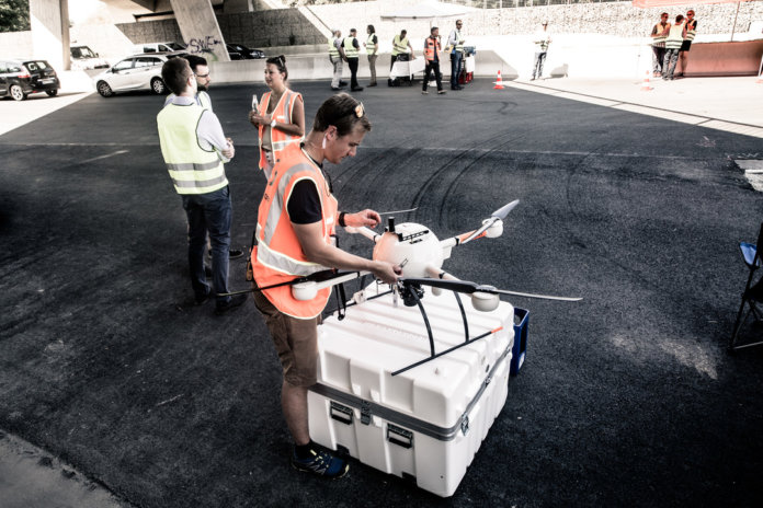 Microdrones - Real world BVLOS corridor mapping in Germany