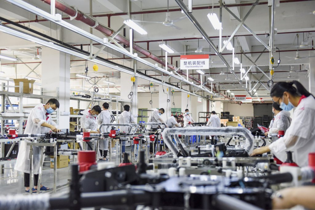 xag resumes work and drone production to aid spring