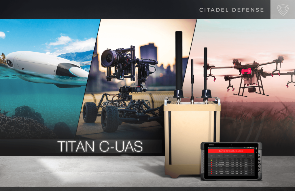 Citadel Defense Launches New AI and Machine Learning Software to Detect and Defeat Air, Land, and Sea Drones - sUAS News - The Business of Drones