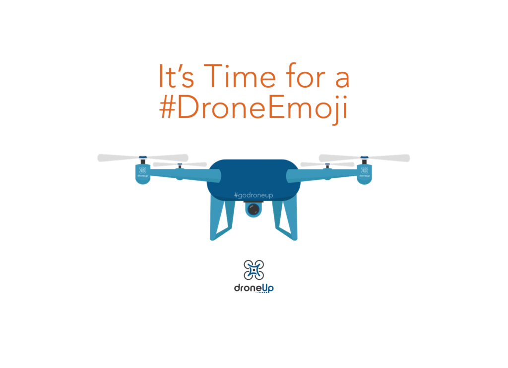 DroneUp Submits Proposal to the Unicode Consortium for a Drone Emoji Launching Petition for Industry Participation - sUAS News - The Business of Drones