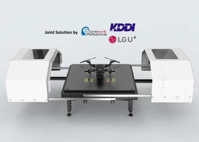KDDI, LG U and CIRC Join Forces for Drone Business Market Development