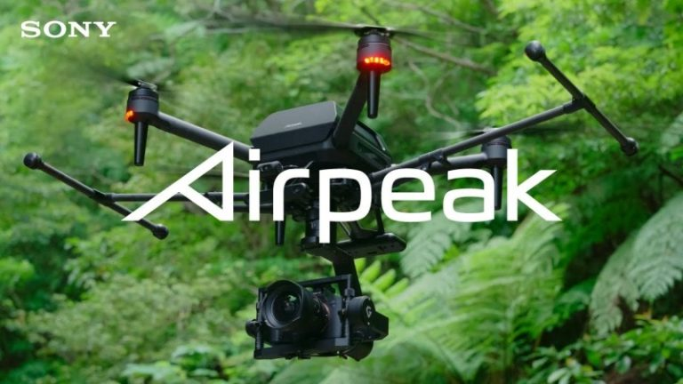 New Sony Airpeak footage and partnership opportunity