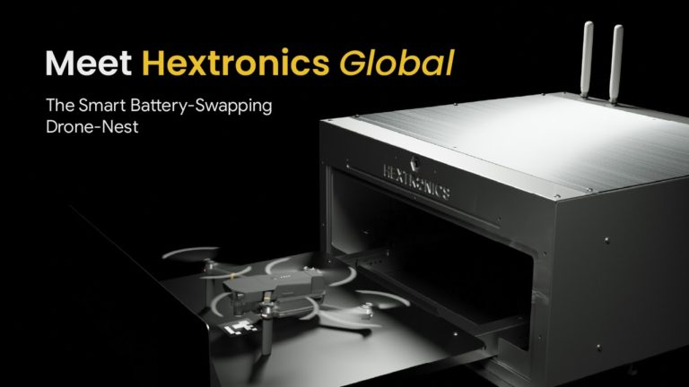 Book Your Hextronics Global Battery-Swapping Drone-Nest at Just USD 999
